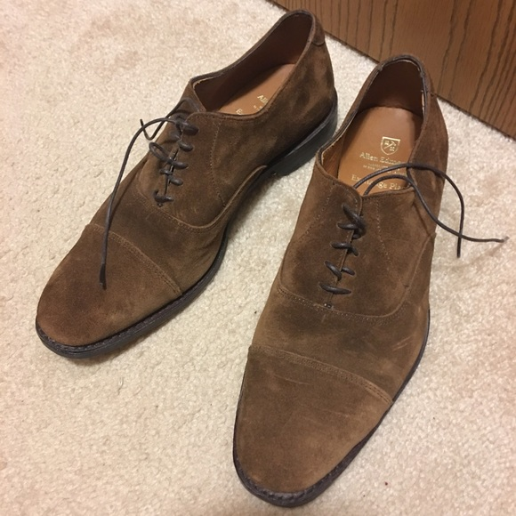 Allen Edmonds Brown Suede Shoes